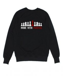 Move With Purpose Chess Sweater