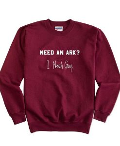 Need An Ark I Noah Guy Sweater