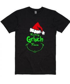Resting Grinch Face Shirt