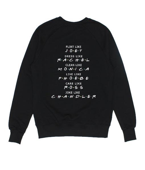 Flirt Like Joey Dress Like Rachel Sweater