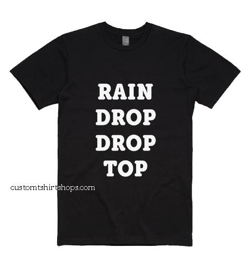 Rain Drop Drop Top Shirt