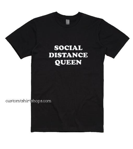 Social Distance Queen Introvert Shirt