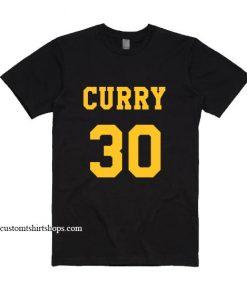 Stephen Curry 30 Shirt