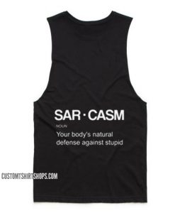 Sarcasm Definition Tank top