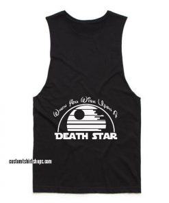 When You Wish Upon a Death Star Workout Tank top