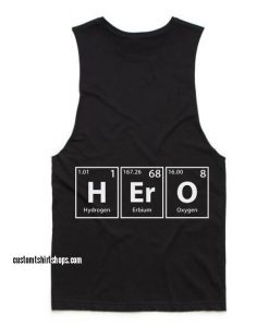 Hero Funny Summer and Workout Tank top