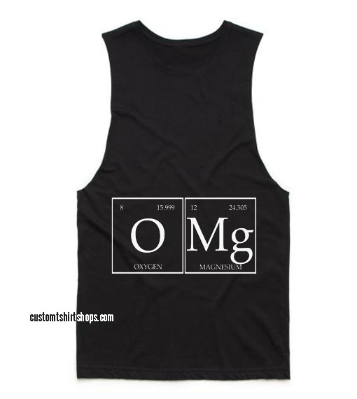 Omg Funny Summer and Workout Tank top