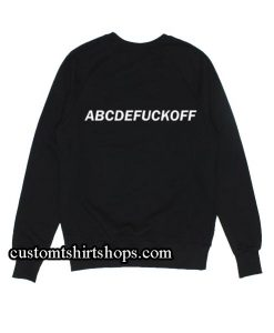 ABCDFUCKOFF Sweatshirts