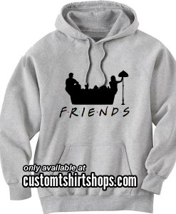 Friends Couch Hoodies