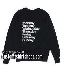 Saturday And Sunday Funny Sweatshirts