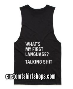 What's My First Funny Summer and Workout Tank top