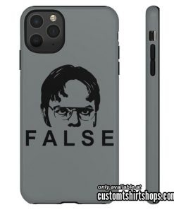 Dwight Schrute FACT FALSE The Office iPhone Case