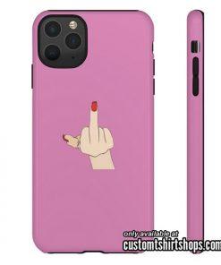 Fuck Finger iPhone Case