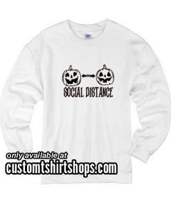 Social Distance Halloween Sweatshirts