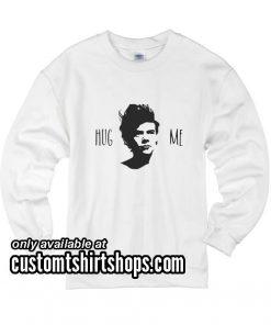 Hug Me Harry Styles Funny Christmas Sweatshirts
