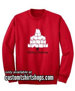 Toilet Paper Christmas Sweatshirts