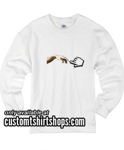 Hands Digital funny Sweatshirts