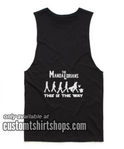 Disney Star wars Mandalorian Tank top