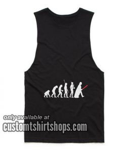 Evolution Of Vader Star Wars Tank top