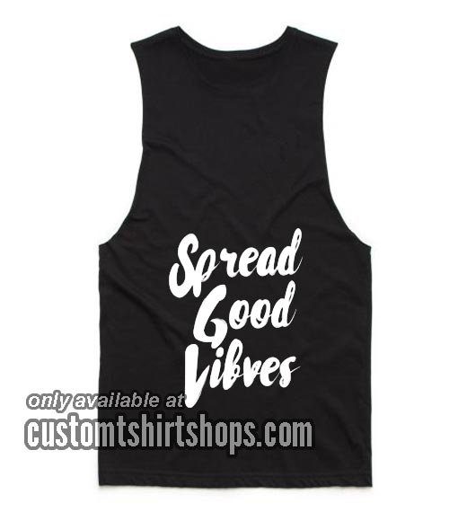 Spread Good Vibes Summer and Workout Tank top