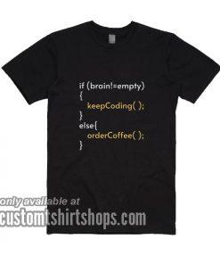 Brain Coding T-Shirts