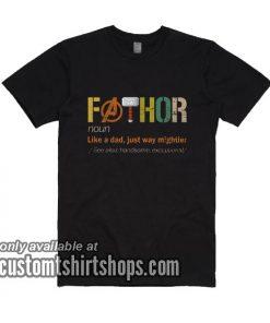 Fathor Definition T-Shirts