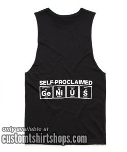Genius Periodic Table Tank top