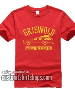 Griswold Family Vacation 80s Movie T-Shirts