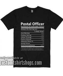 Postal Officer T-Shirts