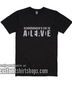 Schrodingers Cat T-shirt Science Teacher Physics T-Shirts