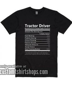 Tractor Driver T-Shirts