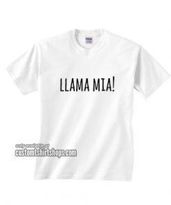 Llama Mia Llama T-Shirt
