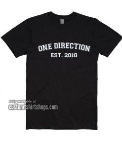 One Direction Est 2010 T-Shirt