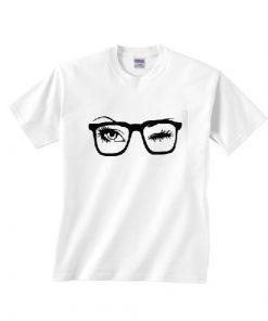 Glasses Wink Funny T-Shirts