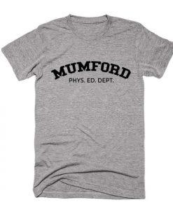 Mumford Phys Ed Dept T-Shirts