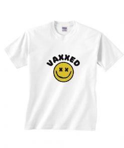 Vaxxed Happy Face T-Shirts