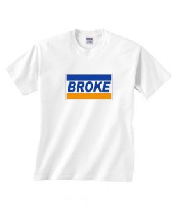 Broke Parody Logo Classic T-Shirts