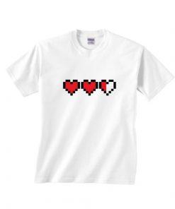 Triple Heart Funny T-Shirts