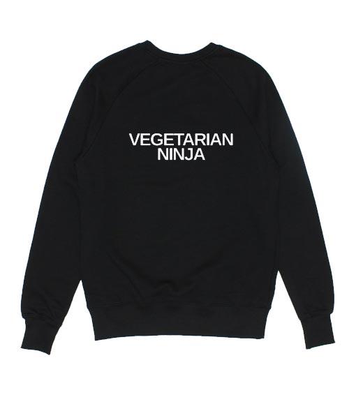 Vegetarian Ninja Sweatshirts
