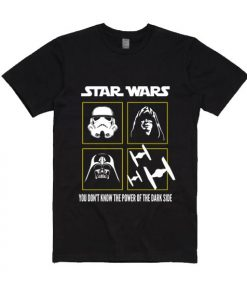 You Don't Know The Power Of The Dark Side Short Sleeve T-Shirts