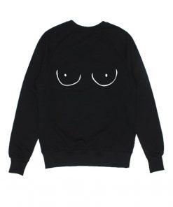 Womens Fun Boobies Sweatshirts