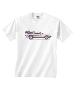 Delorean Short Sleeve T-Shirts