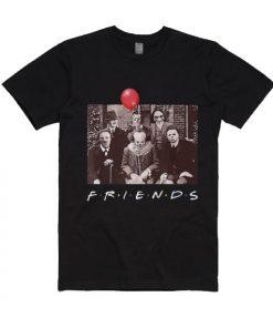 Halloween Horror Team Friends Short Sleeve T-Shirts