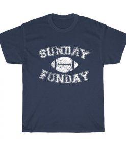 Sunday Funday Short Sleeve Unisex T-Shirts