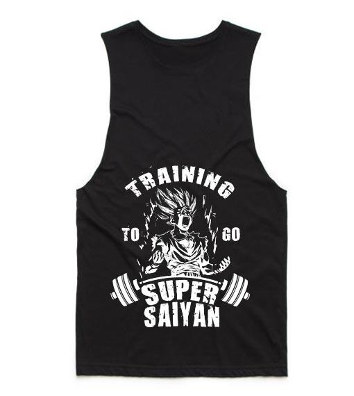 Training To Go Super Saiyan Gym
